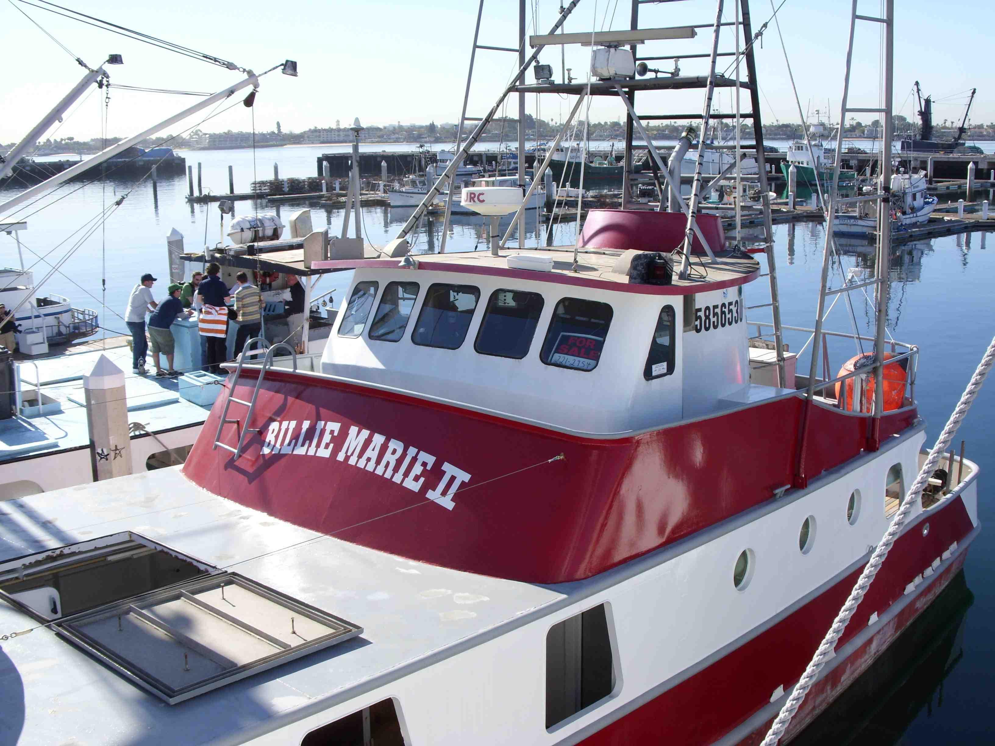 Albacore Tuna Fishing Vessel San Diego Stephen Leahy