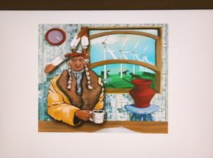 native-windmill-art