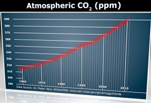 Measurement of CO2 levels in atmosphere