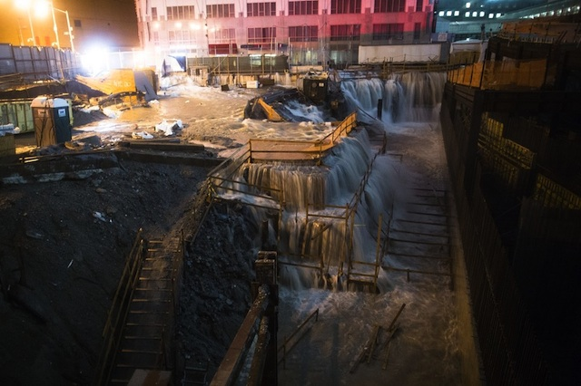 New York City flooding