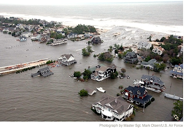 flooding of jersey shore