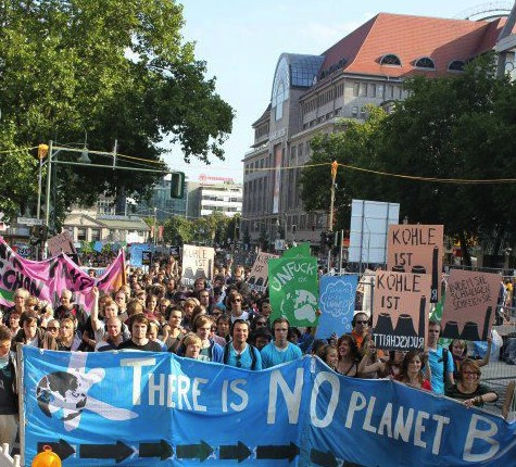There is No Planet B -- berlin march 2012 sign